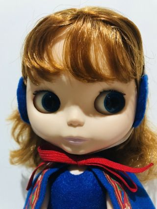 Rare Takara Blythe Cozy Cape Bl - 5 From 2001