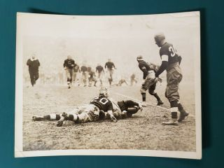Vintage Jim Thorpe - In Action - Type 1 Press Photo