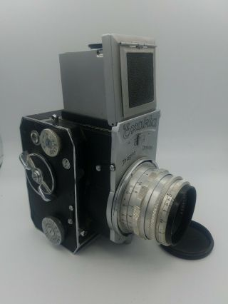 Ihagee Exakta 66 Postwar,  80/2.  8 Tessar Rare And Gorgeous