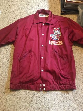 Vintage Buffalo Bisons Baseball Jacket 1970's - Montreal Expos - Please Read