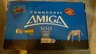 Rare Commodore Amiga 500 Nmib - - Great