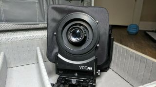 [rare] Horseman Vcc Pro Canon Eos Mount W/ Enlarger And Copal 3 Adapters.