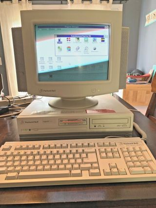 Packard Bell Legend Multimedia 486 Vintage Dos Gaming Pc