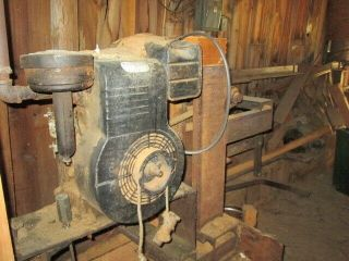 Antique Hit and Miss Motors/ saw mill equipment for split rail fence build 5