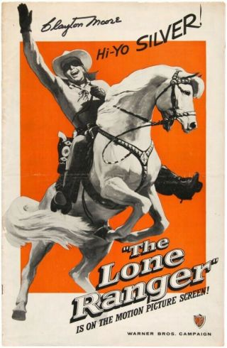 Vintage Movie 16mm The Lone Ranger Feature 1956 Film Adventure Drama Western