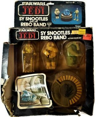 Vintage 1983 Star Wars Return Of The Jedi Sy Snootles And The Rebo Band