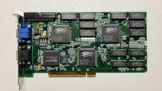 Diamond Monster 3d Ii 3dfx Voodoo 2 8 Mb Pci 3d Vintage Video Graphics Card