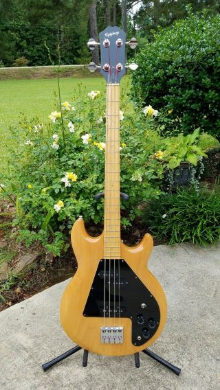 """Epiphone Ripper Bass.  Aka """" The Ripper """" A Rare Opportunity To Own Great Bass"""