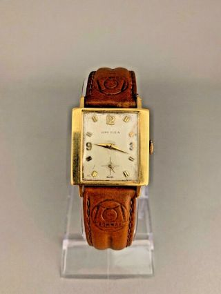 Rare 18k Solid Gold Lord Elgin Watch.