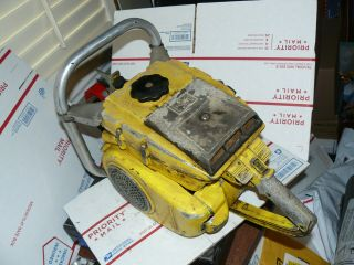 Mcculloch 1 - 80 Chainsaw,  Vintage Chainsaw Mac Gear Reduction,  No Spark