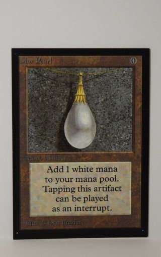 Mtg Magic The Gathering - Collectors Edition Ce - Mox Pearl X1