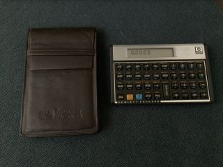 Vintage Hewlett Packard Hp 15c Scientific Calculator With Case Programmable Usa