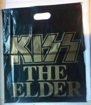 Kiss The Elder Rare Promotional Bag.  Australian 1981 Phonogram