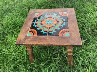 Vintage Mission California Tile Top Table - Catalina - Monterey - 1930