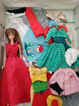 Perfect Vintage Barbie Doll Clothing And Tnt Barbie Doll