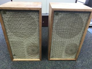 Vintage Acoustic Research Ar - 2a Speakers,