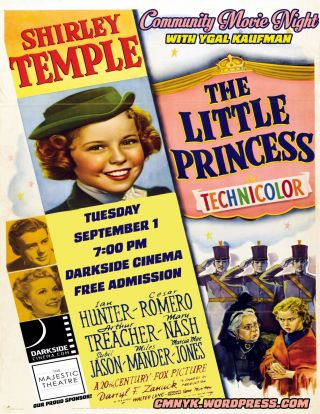 16mm Little Princess Feature Movie Vintage 1939 Action Shirley Temple