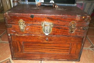Antique Gerstner Or Star Machinist Chest 6 Drawer Tool Box