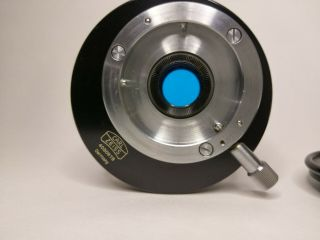 Zeiss Microscope WL Standard Barrier Filter Intermediate Tube and Rare 7