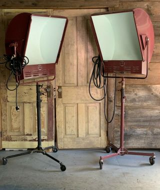 Vintage Mole Richardson Studio Lights