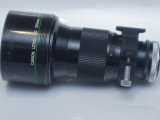 Rare Canon Fd 300mm F2.  8 Ssc Fluorite Lens 300/2.  8 : Vgc : Working: Built In Ho