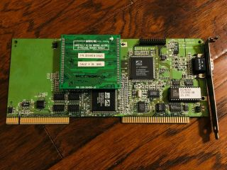 Rare Ati Mach64 Vlb Vesa Local Bus 4mb Video Card For 486,