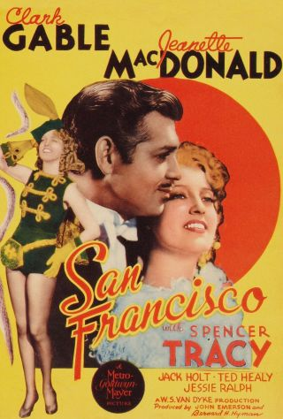 Vintage Movie 16mm San Francisco Feature 1936 Film Marilyn Monroe Adventure
