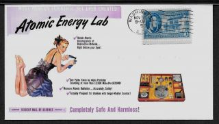 1950s Gilbert Atomic Energy Lab Ad Featured On Collector