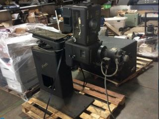 Rare 1950's Simplex Xl Pr - 1004 35mm Commercial Movie Theater Projector With Base