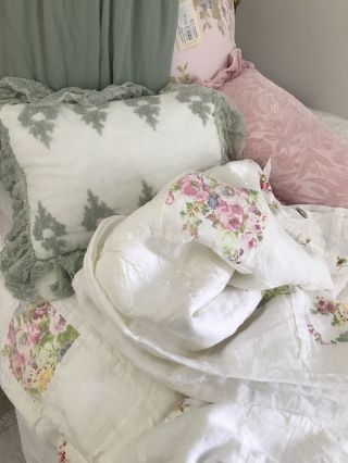 Bella Notte Rare With Tags Stunning Gwen Duvet Retail Almost $700.  00