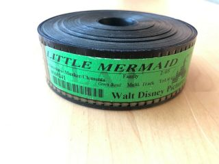 Vintage Collectible The Little Mermaid Movie Film Trailer 35mm Flat - Trailer 4