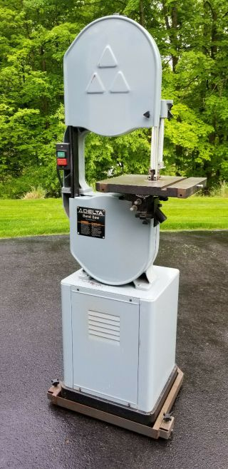 "Delta 14 "" Band Saw,  Vintage 1996,  Model 28 - 203,  3/4 Hp,  W/ Mobile Base Option"