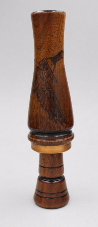 Vintage Ray Wright Carved Goose (duck) Call