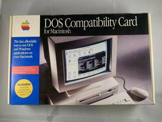 Vintage Apple 820 - 0591 - A Dos Pc Compatibility Card For Power Macintosh 6100
