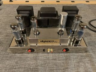 Vintage Dynaco Dynakit Stereo 70 Tube Amplifier With Upgraded Input Board