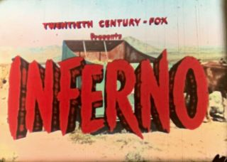16mm Orig - Rare Tech Print Robert Ryan - Inferno - Rhonda Flemming
