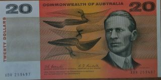 Coombs Randall $20.  00 Note Aunc - Unc.  Very Rare & Scarce This