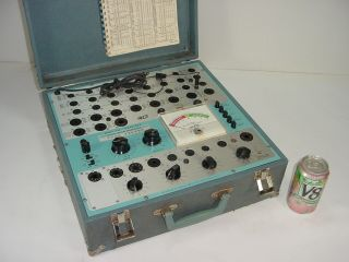 Vintage B&k Dyna - Jet 707 Mutual Conductance Tube Tester Checker -