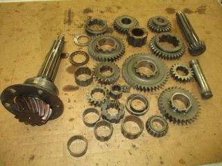 1955 Allis Chalmers Wd45 Transmission Gears Antique Tractor