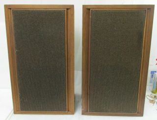 Vintage Klh Model Twenty - Three Acoustic Suspension Loudspeaker System