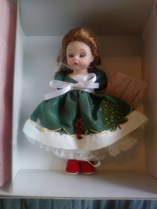 Madame Alexander 6 - 8 Inch Dolls Vintage My First Christmas Tree With Spode 36875