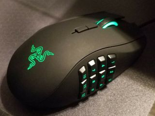 Razer Naga 2014 Left - Handed Edition Gaming Mouse (ultra - Rare)