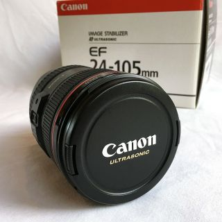 Canon Ef 24 - 105 Mm F/4l Is Usm Zoom Lens - Rarely - 1 Owner (0344b002)
