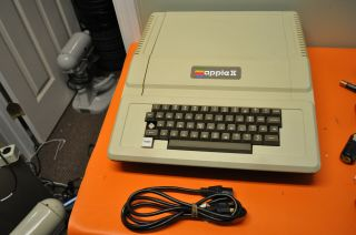 Vintage Apple Ii Personal Computer Not