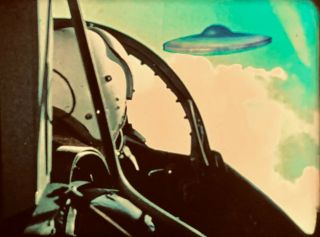 16mm Orig - RARE 1968 UFO - SCI - FI FEATURE - STUNNING COLOR 2