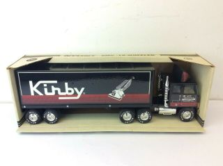 Vintage Kirby Nylint Pressed Steel Gmc 911 - Z 18 Wheeler Tractor Trailer Toy