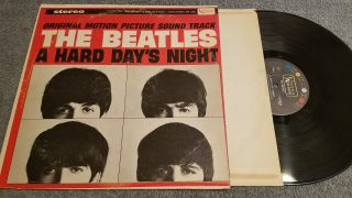 Beatles A Hard Days Night Stereo Lp St90828 (ext Rare 1966 Capitol Club Press)