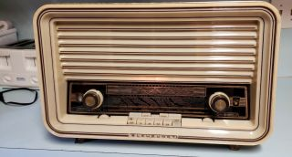 Vintage 1961 Blaupunkt Sultan Tube Type Radio Made In Germany