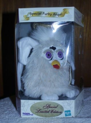 Special Furby Angel Limited Edition Tiger Electronics 2000 Rare