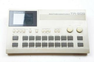 Roland Tr - 505 Rhythm Composer Vintage Drum Machine As - Is